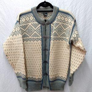 Dale of Norway wool cardigan sweater